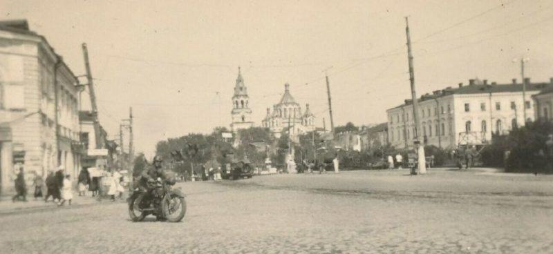 Улицы Житомира. 1942 г.