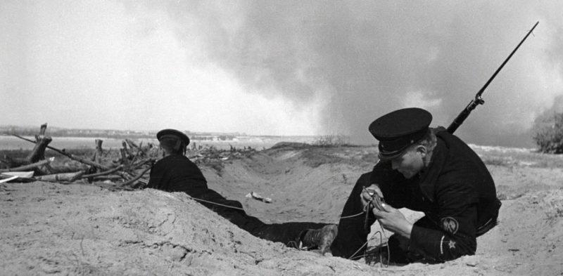 Моряки –связисты. Август 1942 г.