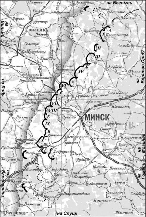 Карта-схема МиУРа.