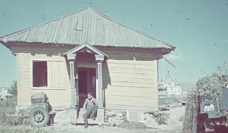 Пригород Сталинграда. Сентябрь 1942 г.