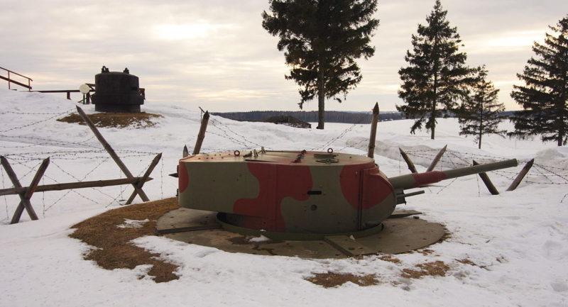 Танковая башня танка Т-26.