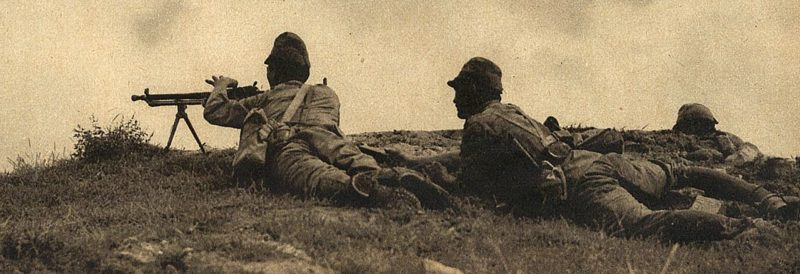 Японские пулеметчики. 1937 г.