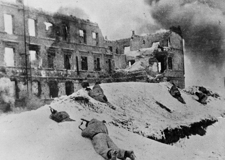 Бои в городе. Январь 1943 г.