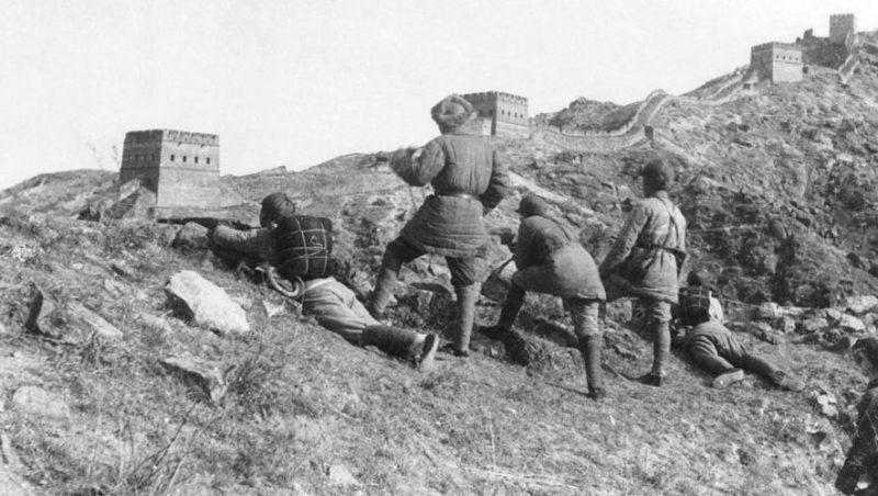 Бой у Великой китайской стены. Лайюань, Хэбэй, 1937 г.