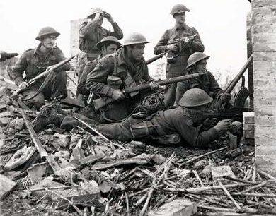Бой в Италии. 10 декабря 1943 г.