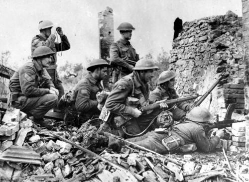Битва при Ортоне. 28 декабря 1943 г.