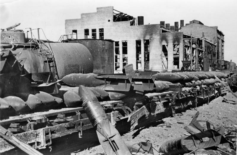 Железнодорожная станция. 22 октября 1942 г.