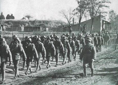 Китайская пехота. 1938 г.
