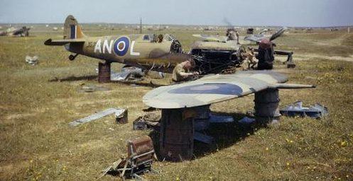 Военный аэродром. Габес. Тунис, 1943 г.