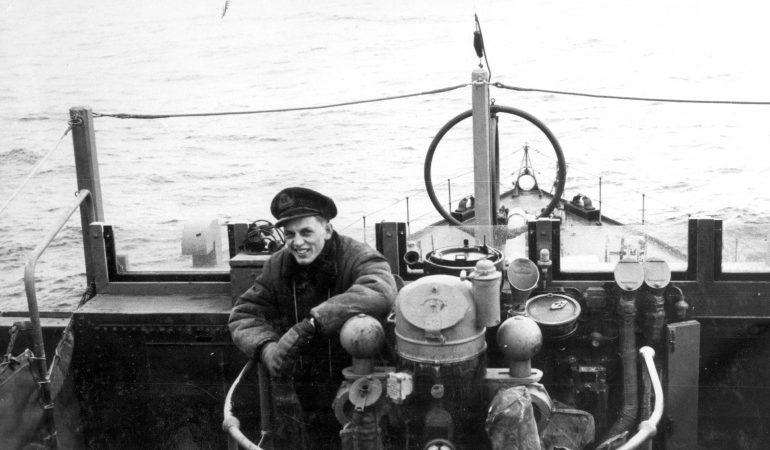Мостик канадского корвета «Ветаскивин». 1943 г.