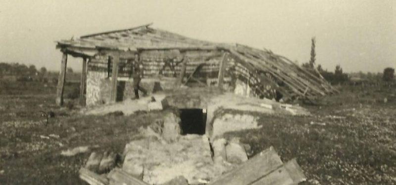 Взорванный немцами ДОТ №323.