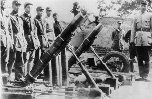 Японские минометы на службе китайцев. 1938 г.