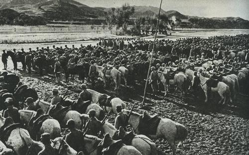 Китайская кавалерия. 1938 г.