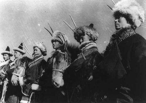 Китайские войска на Лунхайской железной дороге. 1938 г.