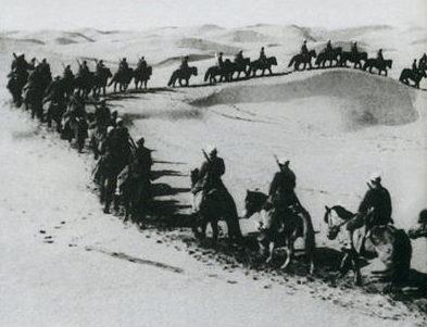 Китайская мусульманская кавалерия армии Ма. 1938 г.