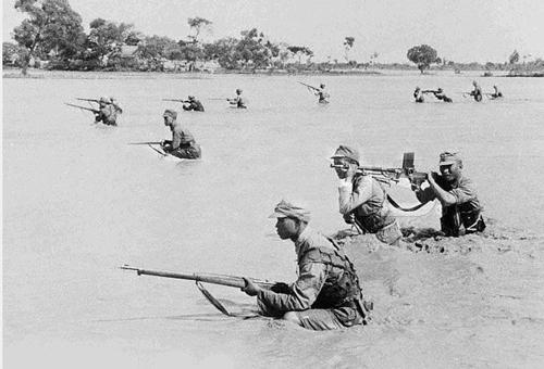 Бой на берегу Хуанхэ. 1938 г.