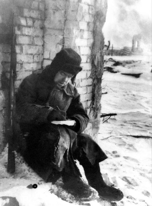 Письмо домой. Ноябрь 1942 г.