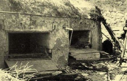 Артиллерийский капонир №203. Кочиеры, август 1941 г.