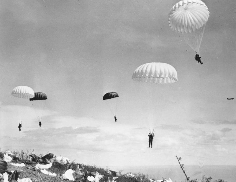 Немецкий десант на мост. 27 июня. 1941 г.