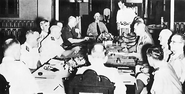 Американско-британско-голландско-австралийское командование обороной Ост-Индией.