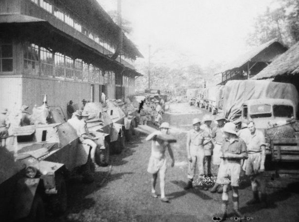 Австралийские войска на Яве.