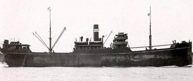 Торговое судно «Gairsoppa» в 1919 г.