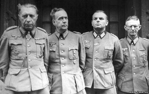 Немецкие генералы в советском плену.