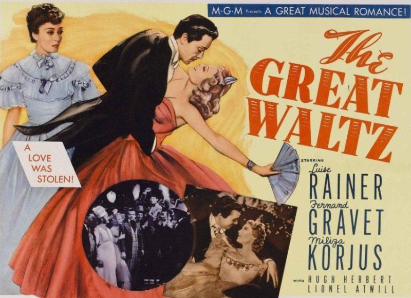 Постер фильма «Большой вальс».