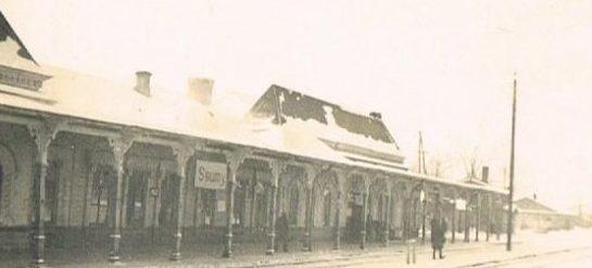 Станция Сумы. 1941 г.