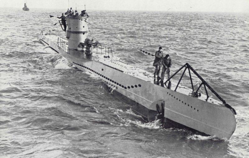 Немецкая подлодка «U-101» потопившая «Gairsoppa».