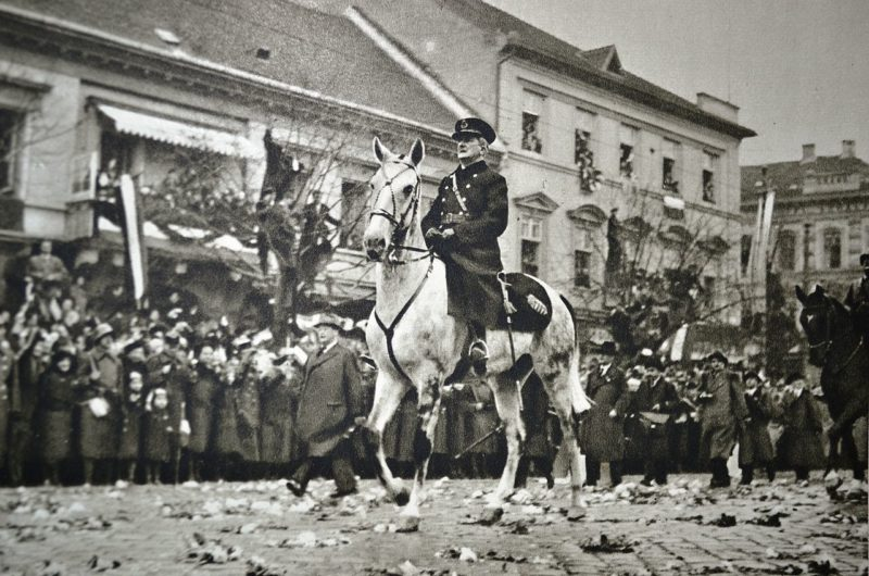 Адмирал Хорти в Кошице. 11 ноября 1938 г.