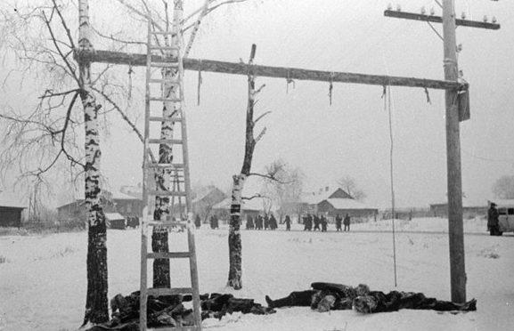 Погибшие советские патриоты.