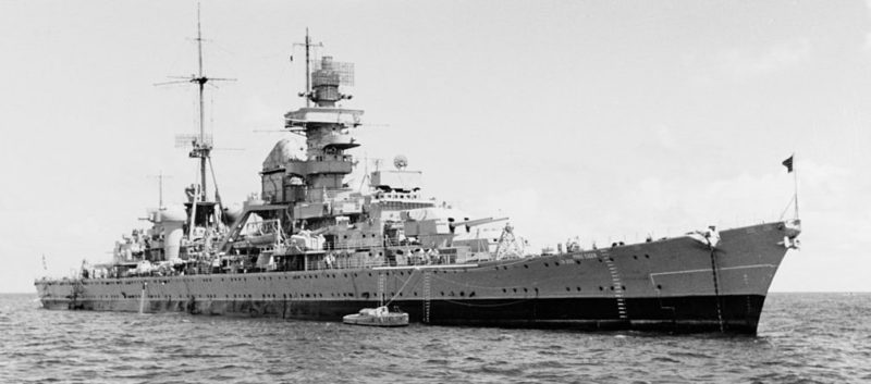 Тяжелый крейсер «Принц Ойген».