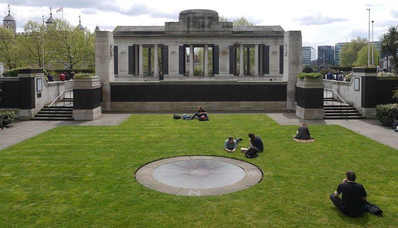Мемориал Тауэр Хилл. Лондон.