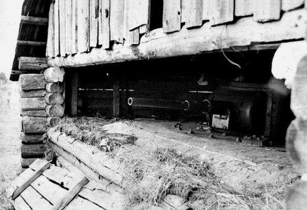 Огневые точки Полоцкого Ура. Июль 1941 г.