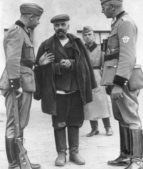 Пленение генерал-майора М. Т. Романова.