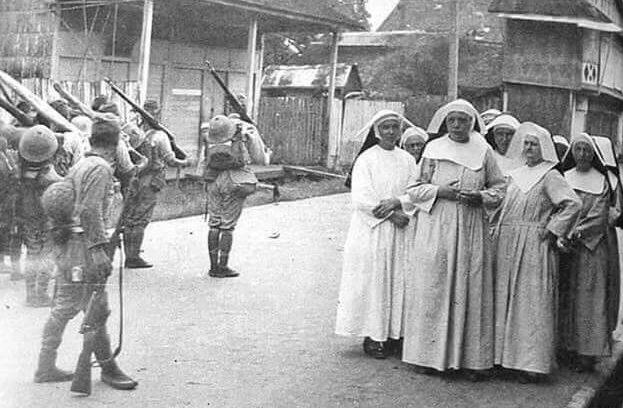 Манила во время японской оккупации.