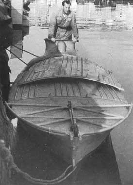 Штурмовая взрывающаяся лодка X-й флотилии Mas. 1942 г.