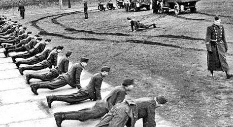 Подготовка новобранцев. 1939 г.