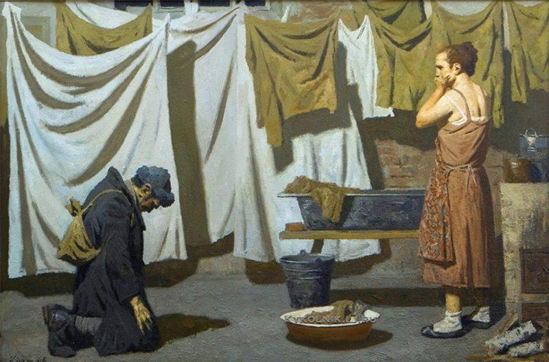 Картина Коржева Г.М. «Дизертир».