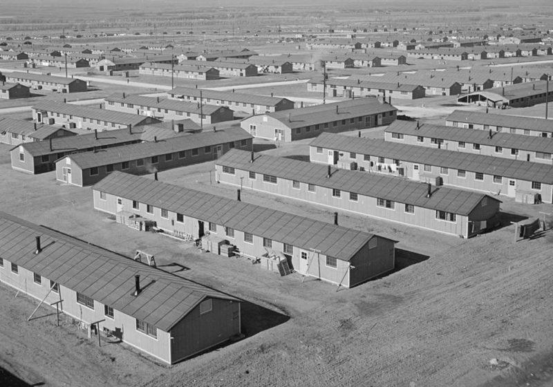 Лагерь «Granada» в штате Колорадо.