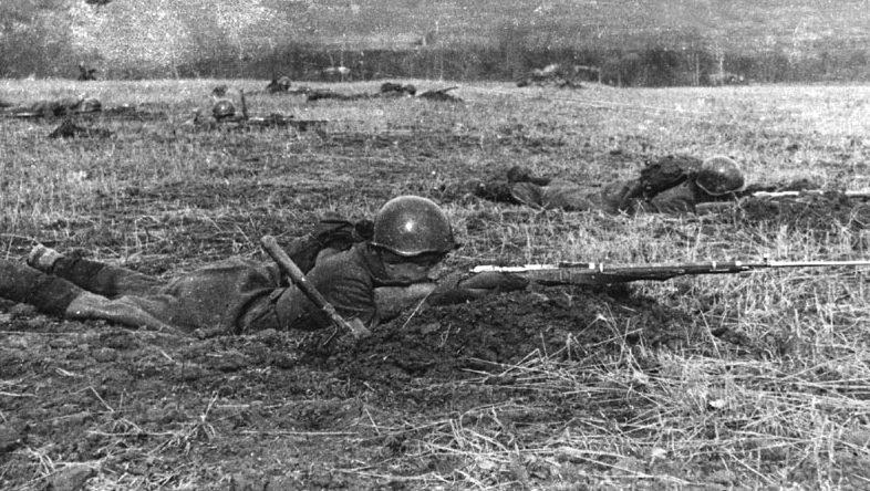 Оборона Можайской линии. Октябрь 1941 г.