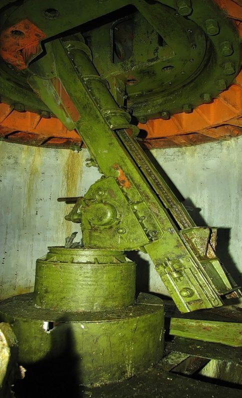 Казематное орудие.