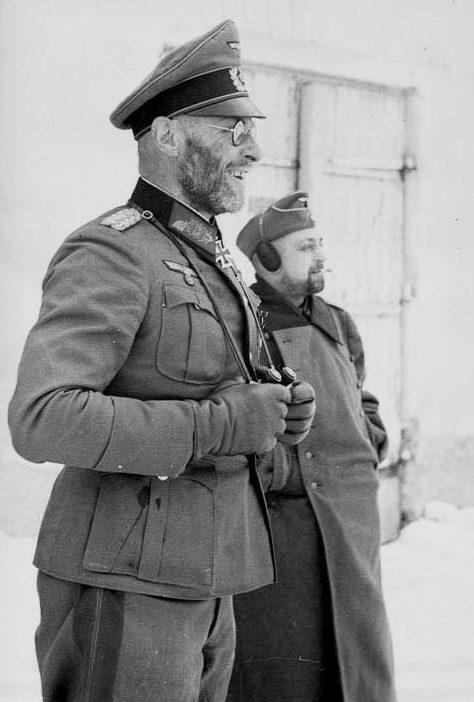 Генерал Теодор Шерер – командующий немецкими войсками в Холмском «котле». Январь 1942 г.