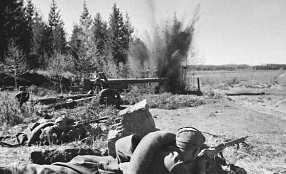 Оборона полоцкого рубежа. Июнь 1941 г.