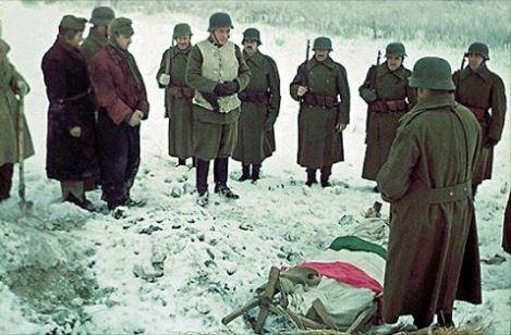 Похороны венгерских солдат на Восточном фронте. 1943 г.