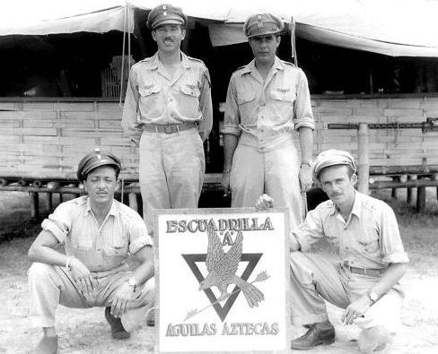 Военно-воздушная база 201-й эскадрильи. 1943 г.