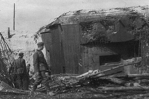 Брошенные и захваченные советские ДОТы укрепрайона. Июнь 1941 г.