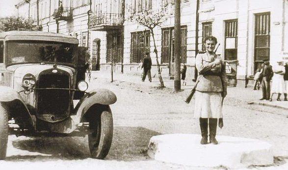 Освобожденные Сумы. Сентябрь 1943 г.