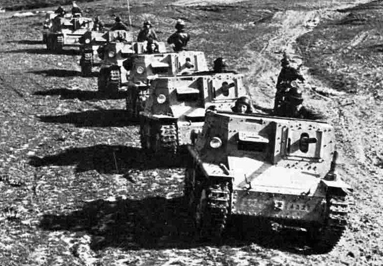 Итальянские части на Восточном фронте. Лето 1942 г.